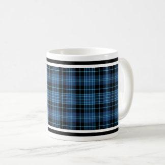 Caneca De Café Tartan escocês dos cleros
