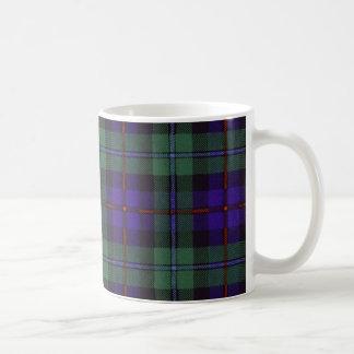 Caneca De Café Tartan escocês real - Campbell de Cawdor