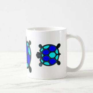 Caneca De Café Tartaruga azul!