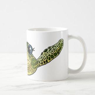 Caneca De Café Tartaruga de mar bonito