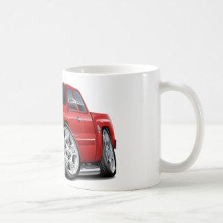 Caneca De Café Táxi prolongado vermelho de Chevy Silverado
