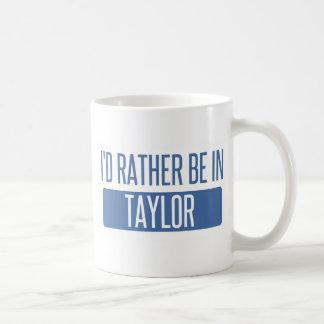 Caneca De Café Taylor