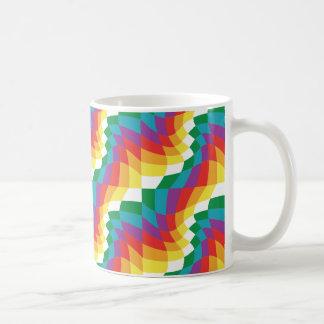 Caneca De Café Taza loca de colores