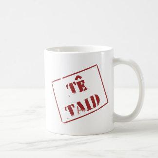 Caneca De Café Te Taid (Galês)