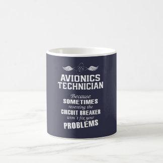 Caneca De Café Técnico da aviónica