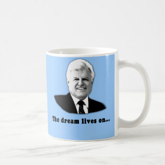 Caneca De Café Ted Kennedy as vidas do sonho sobre