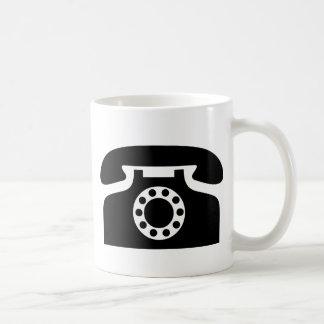 Caneca De Café Telefone giratório