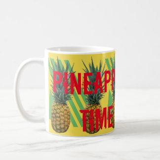 Caneca De Café tempo do abacaxi