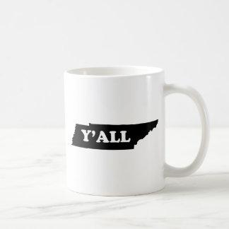 Caneca De Café Tennessee Yall
