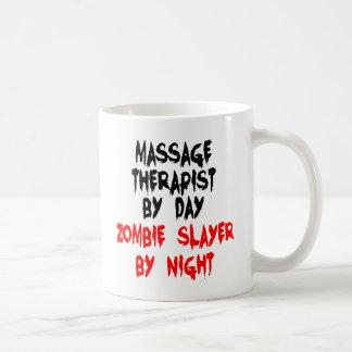 Caneca De Café Terapeuta da massagem do assassino do zombi