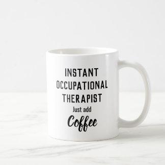 Caneca De Café Terapeuta personalizado (ocupacional, ABA,
