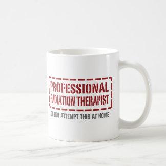 Caneca De Café Terapeuta profissional da radiação