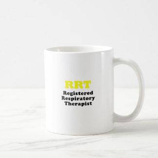 Caneca De Café Terapeuta respiratório registrado RRT