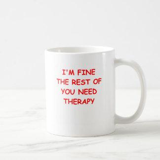 Caneca De Café terapia