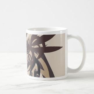 Caneca De Café Terra da abstracção quatro