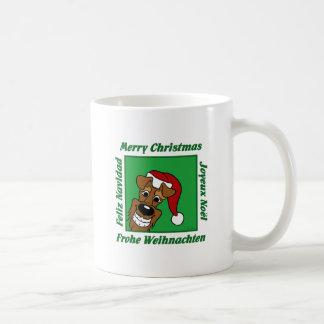 Caneca De Café Terrier irlandesa Weihnacht