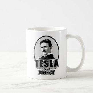 Caneca De Café Tesla é meu ficar em casa