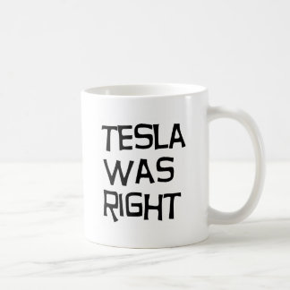 Caneca De Café Tesla era direito