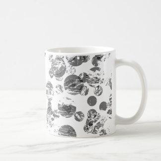Caneca De Café Teste padrão afligido do ponto preto