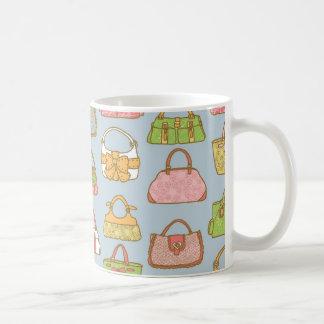 Caneca De Café Teste padrão bonito e colorido da ilustração das