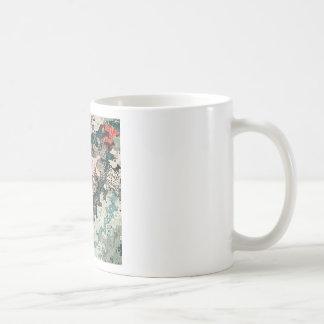 Caneca De Café Teste padrão colorido 1 das texturas