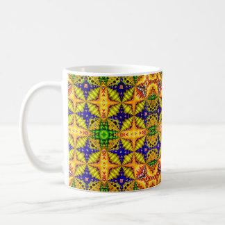Caneca De Café Teste padrão colorido 2
