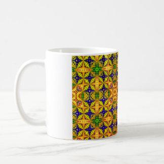 Caneca De Café Teste padrão colorido 22
