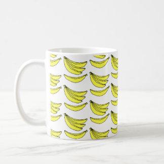 Caneca De Café Teste padrão da banana