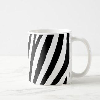 Caneca De Café Teste padrão da zebra