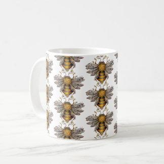Caneca De Café Teste padrão    das abelhas