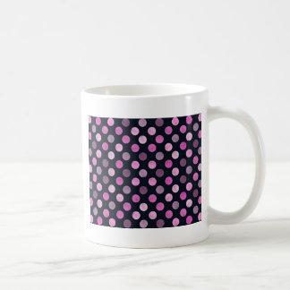 Caneca De Café Teste padrão de pontos bonito XVII