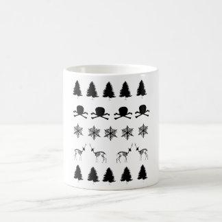 Caneca De Café Teste padrão do inverno
