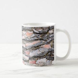 Caneca De Café Teste padrão do latido do pinho