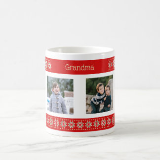 Caneca De Café Teste padrão feito sob encomenda do Natal das