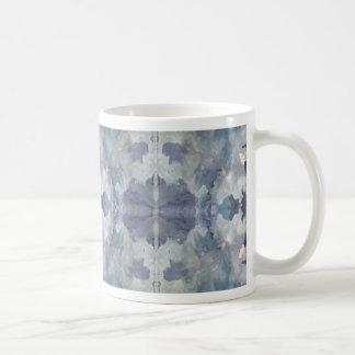 Caneca De Café Teste padrão frio do Lilac