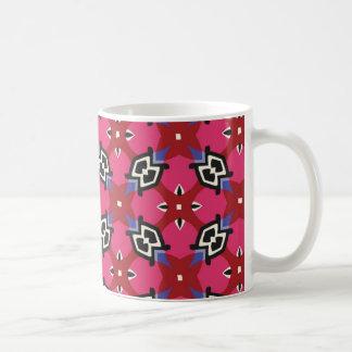 Caneca De Café Teste padrão geométrico brilhante