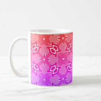 Caneca De Café Teste padrão geométrico brilhante 2