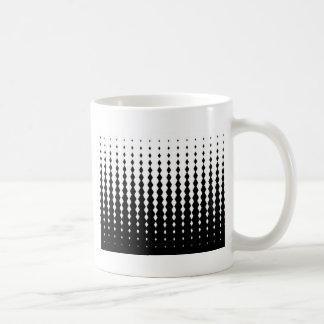 Caneca De Café Teste padrão misturado de Rhomb
