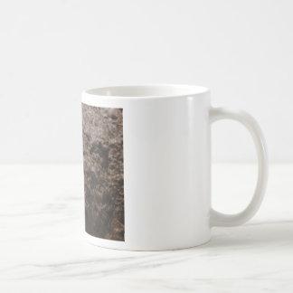 Caneca De Café textura pitted da rocha
