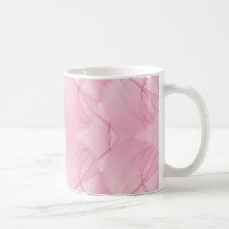 Caneca De Café Textura sem emenda cor-de-rosa bonita