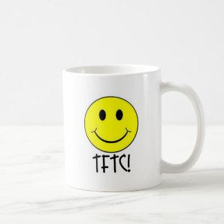 Caneca De Café TFTC com smiley