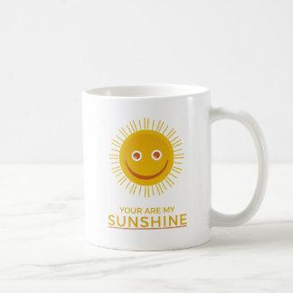 Caneca De Café The Sun amarelo - você é minha luz do sol