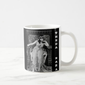 Caneca De Café Theda Bara como Cleopatra