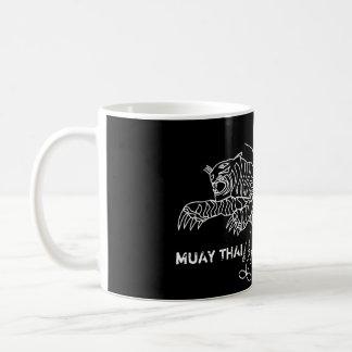 Caneca De Café Tigre TAILANDÊS de MUAY