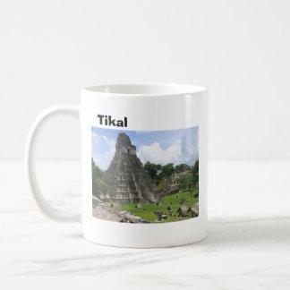Caneca De Café Tikal antigo