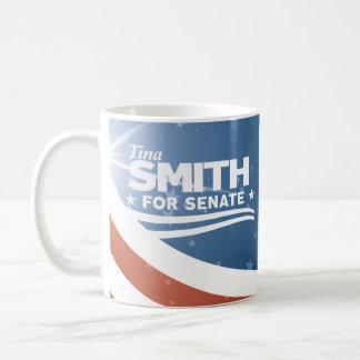 Caneca De Café Tina Smith para o Senado