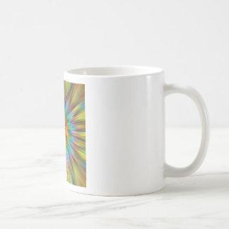 Caneca De Café Tintura colorida Starburst do laço