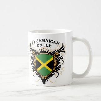 Caneca De Café Tio jamaicano do número um