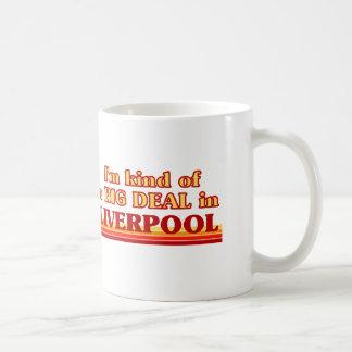 Caneca De Café Tipo de I´m de uma grande coisa em Liverpool