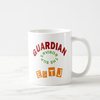 Caneca De Café Tipo de personalidade do guardião de ESTJ